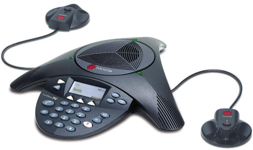 黑白直播足球jrs Polycom SoundStation 2 EX扩展型